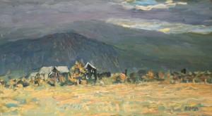Det trekker opp, Grindaheim i Vang i Valdres av Arne Paus