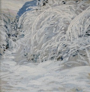 Snowcovered 25x25