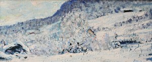 Vinterdag i Aurdal, 19x44