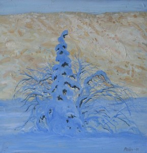 Winterlight 2 30cm x 30 cm