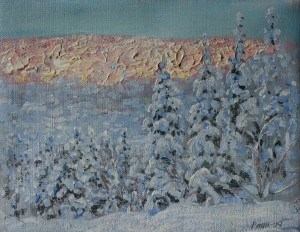 Winterlight 4 by Arne Paus 25x30