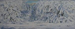 Vinter i Aurdal 2 av Arne Paus