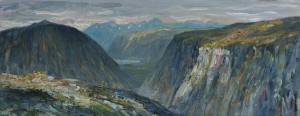 Towards Eikesdalen (20x50)