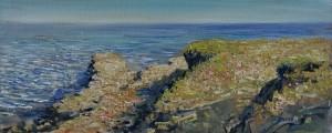 Cliffs at Lanzarote by Arne Paus